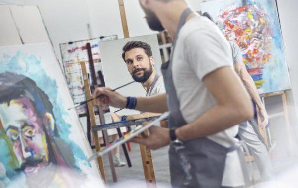 Мъжът Творец и неговите творби