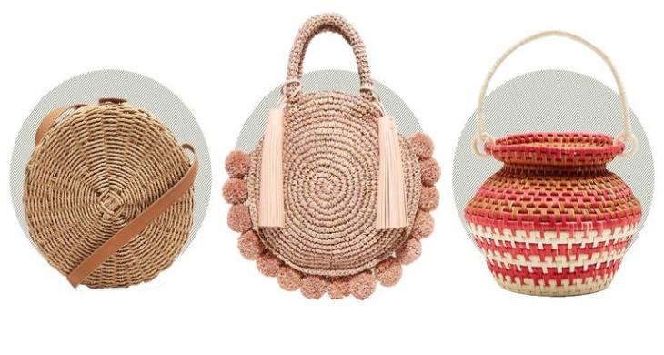 Сламената чанта – кошница за плаж или моден тренд