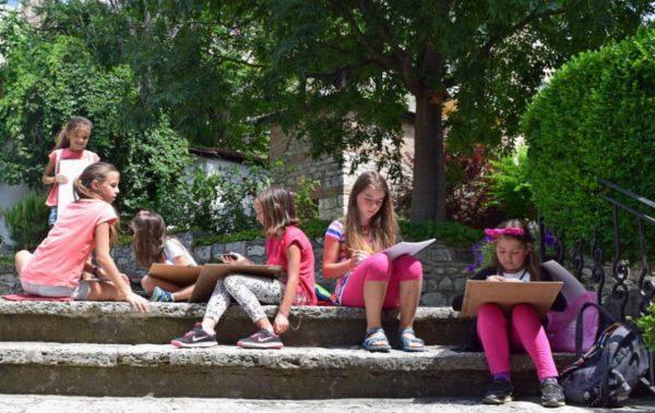 Летен пленер за деца във Варна