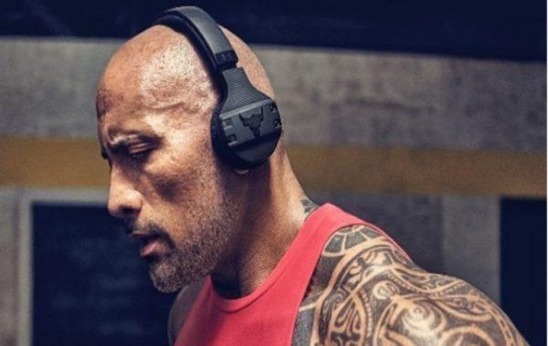 Слушалките на Дуейн Джонсън променят начина, по който тренираме