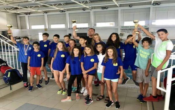 """ПСК """"Черно море"""" завоюва отборната купа на държавното първенство при децата"""