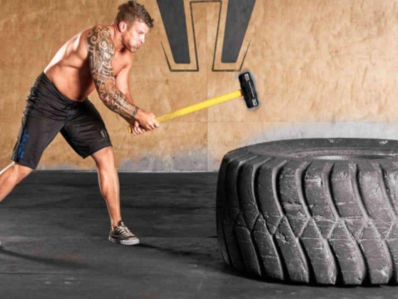 Тренировки с ковашки чук (Sledge Hammer)