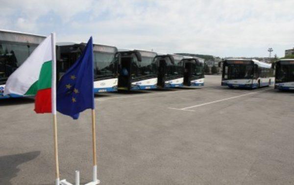 15 нови автобуса тръгнаха по улиците на Варна
