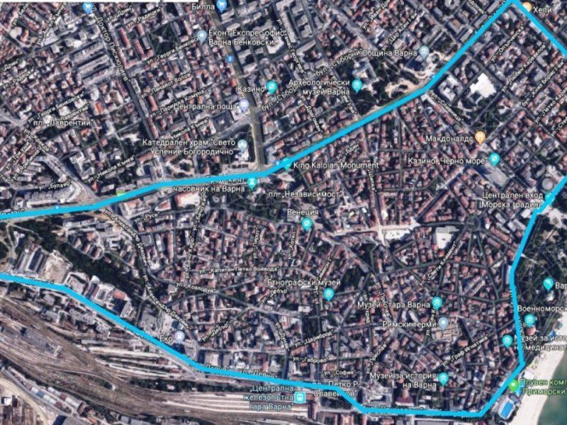 До 2 години синята зона във Варна ще бъде разширена