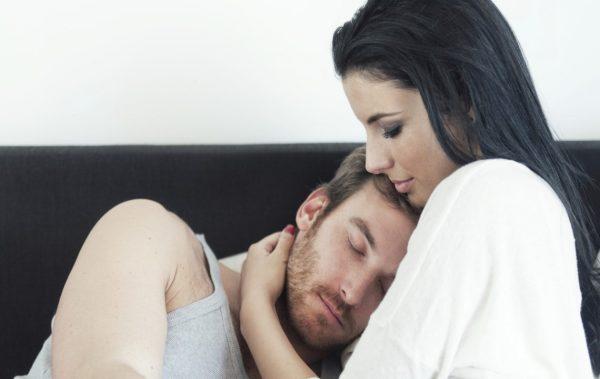 Мъжки сълзи след секс