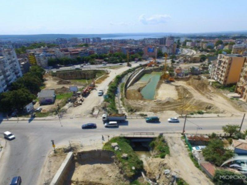 """Как върви строителството на новия бул. """"Левски"""" (Снимки)"""