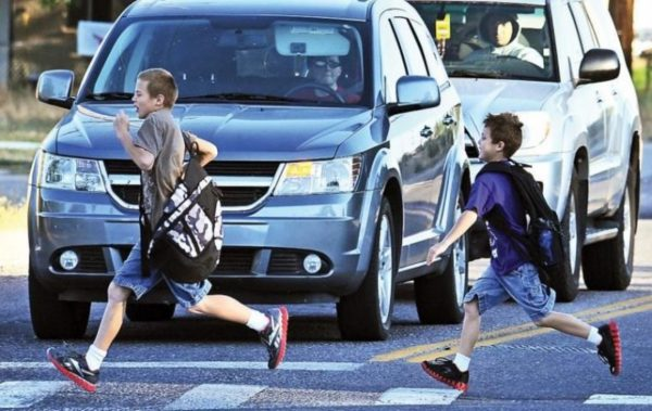 Как да предпазим децата на улицата?