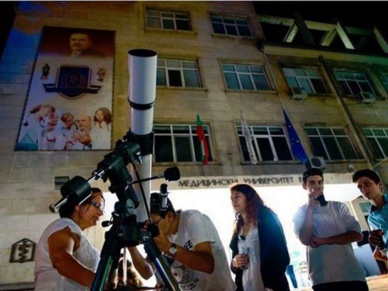 """Изложби, конкурси и демонстрации за """"Европейската нощ на учените"""" във Варна"""