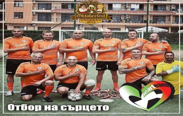 Рапъри и футболисти играят за благотворителна кауза във Варна