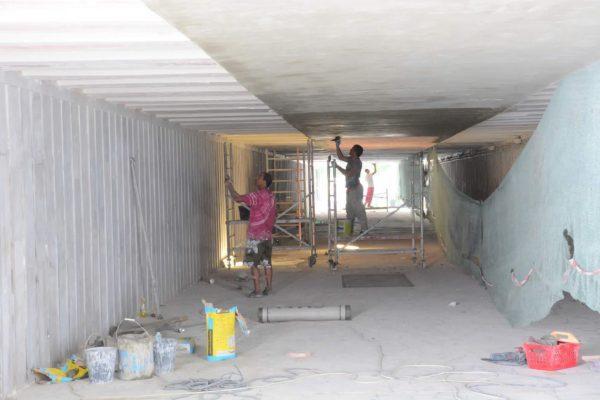 Ремонтират пешеходни и автоподлези във Варна