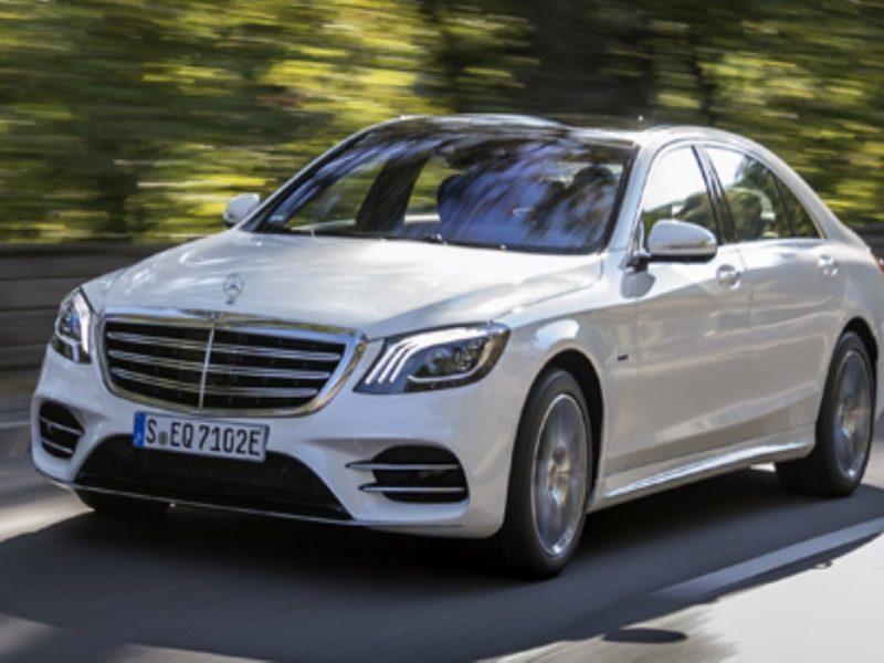 Електрифицираното бижу: S-Klasse на Mercedes