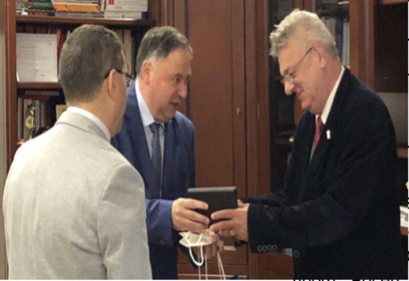 """ТУ – Варна и Университетът Ovidius в Румъния ще си сътрудничат по стратегията """"Син растеж""""на Европейската комисия"""