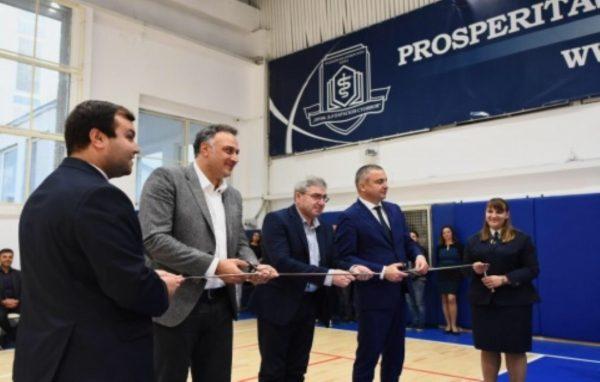 Стоян Пасев и Иван Портних откриха обновеният спортен комплекс на МУ- Варна