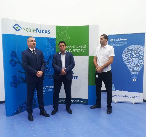 Иван Портних бе гост на откриването на софтуерната компания Scale focus във Варна