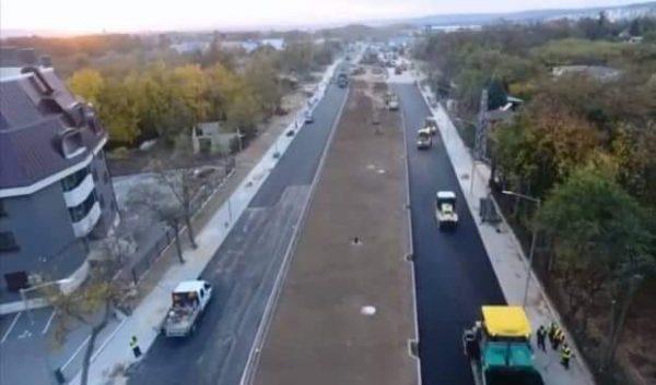"Пуснаха движението по пробива на бул. ""Сливница"""