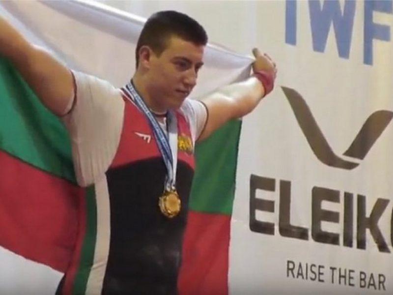 Щангистът Христо Христов е спортист на Варна за октомври