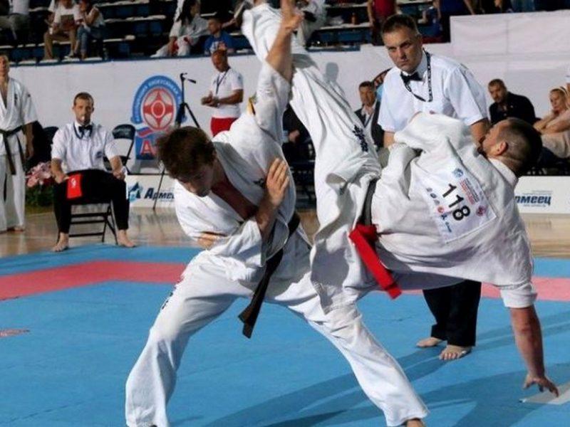 Европейско по карате и световно по бойни изкуства в ДКС
