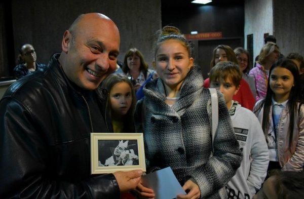 Кръстю Лафазанов се срещна с млади театрали във Варна
