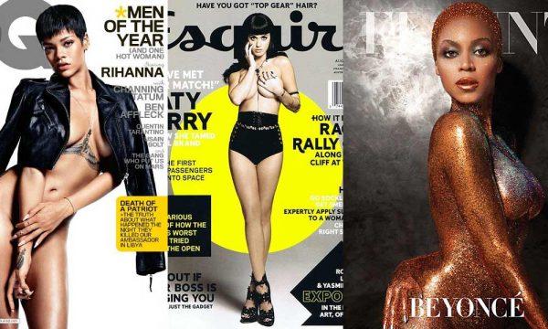 Най-добрите голи корици на списания според Билборд