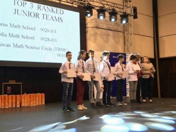 7 златни медала за Варна на Световния шампионат по математика