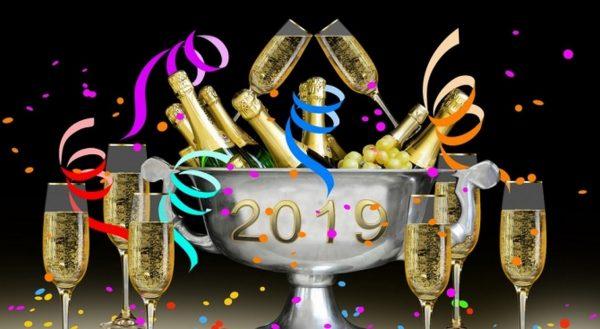 Посрещаме Новата 2019 година!