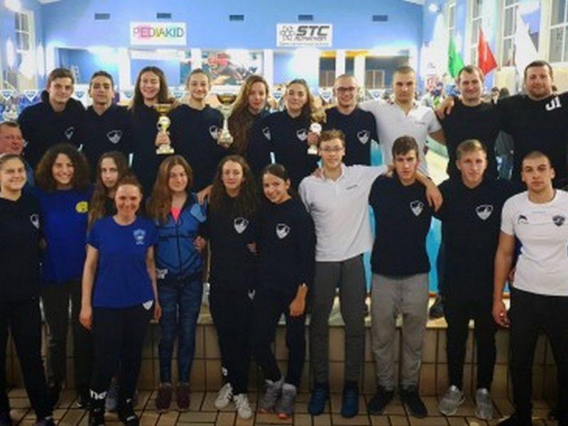 """ПСК """"Черно море"""" е комплексен шампион на България по плуване за 2018 г."""