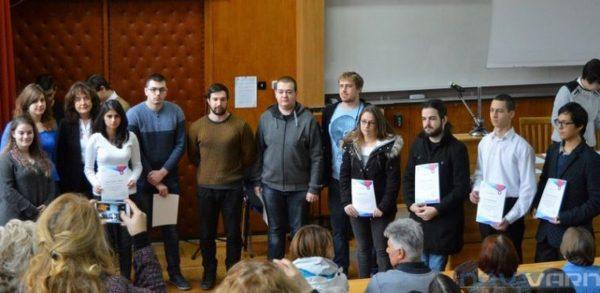 Техническия университет награди студенти отличници (СНИМКИ)