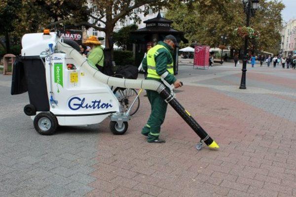 Община Варна купува нова техника за поддържане на чистотата