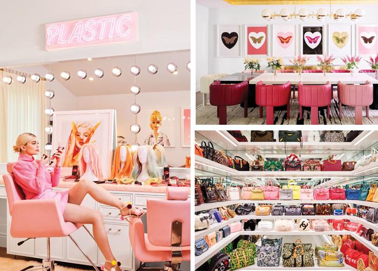 В дома на Кайли Дженър – 50 нюанса розово и гардероб за милиони