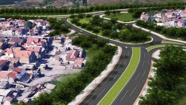 """Елипсовидно кръстовище строят на бул. """"Левски"""" до езерото"""