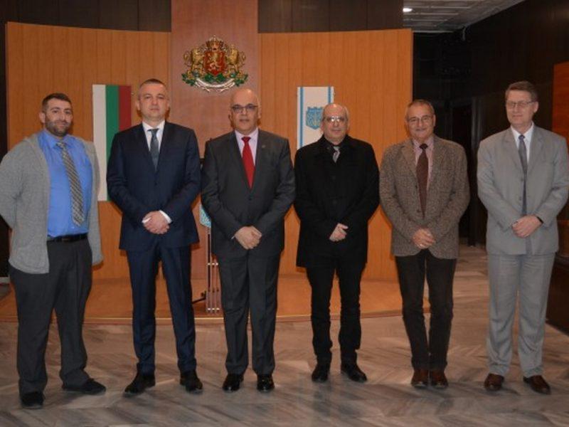Портних се срещна с експерти по контратероризъм от Румъния и Израел