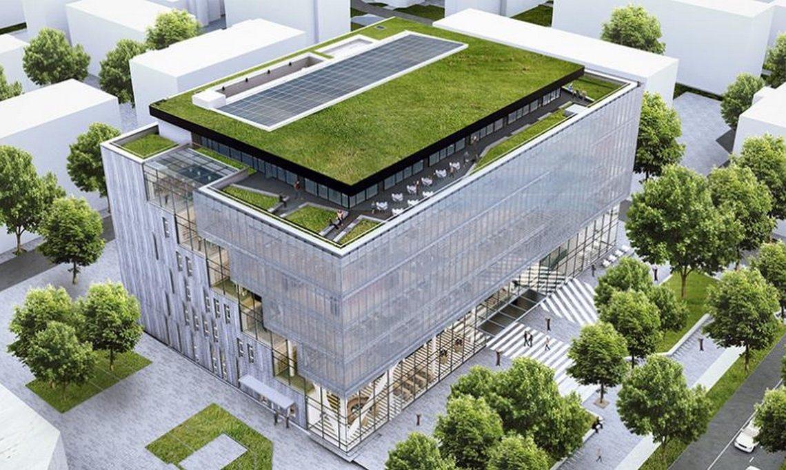 Каква е окончателната визия на новата библиотека на Варна