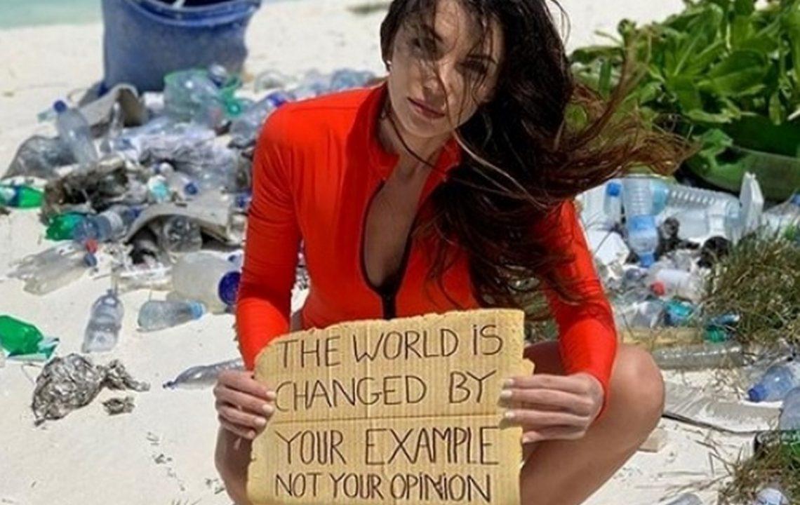 Диляна Попова иска плажове без пластмаса