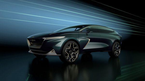 Aston Martin Lagonda: новият SUV е електрически и… веган (снимки)