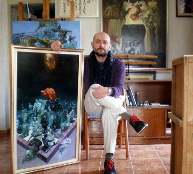 Изложба живопис и туш перо на Боян Янев в галерията на ТУ – Варна