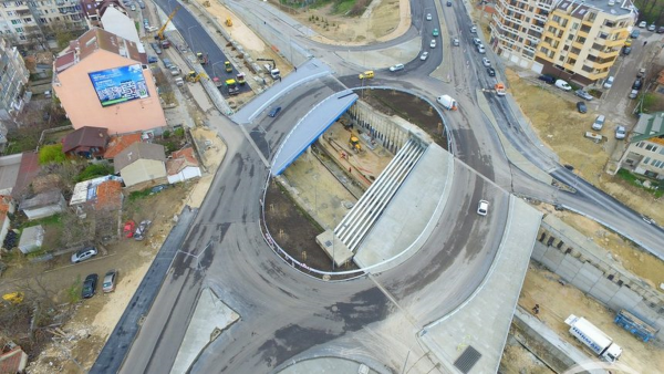 "Кръстовището на бул. ""Левски"" било елипсовидно по проект"
