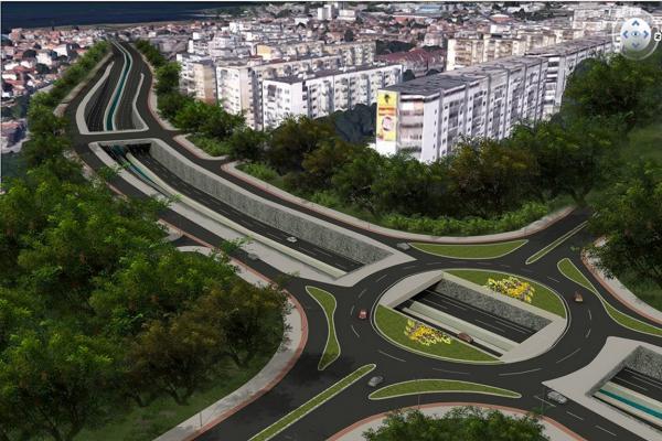 """Четири минути отнемало цялото трасе на новия бул. """"Левски"""" при скорост 60 км/ч"""
