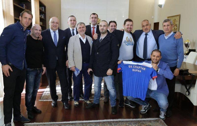 Кметът на Варна пожела успех на Спартак във Втора лига