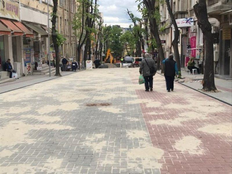 """Оформя се пешеходният облик на ул. """"Цар Симеон I"""" във Варна"""