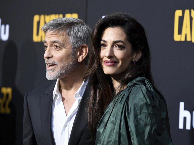 Една любима стилна двойка – Джордж и Амал Клуни