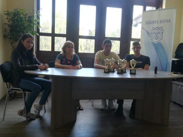Симона Дянкова е спортист на Варна за месец април