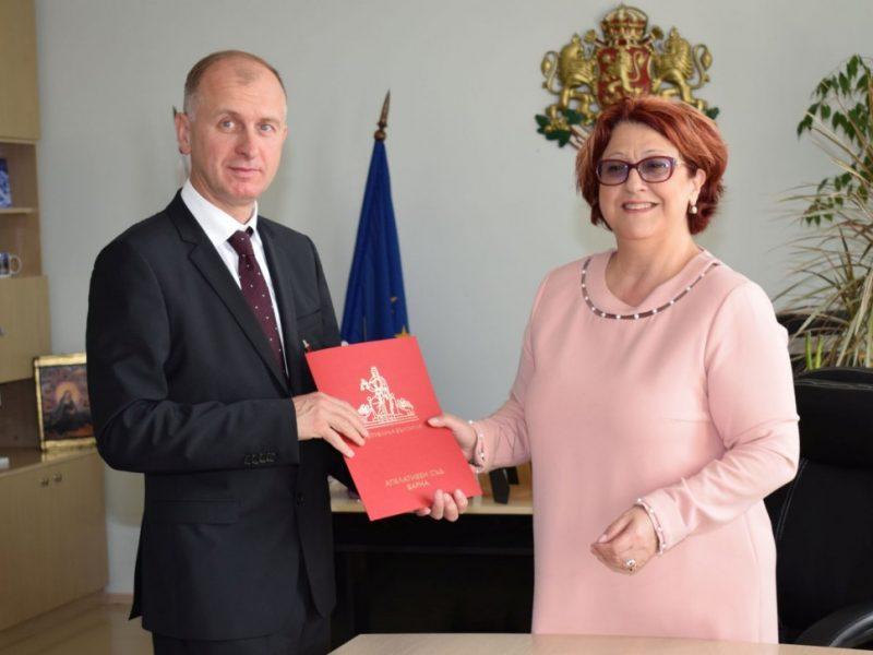 Марин Маринов встъпи във втория си мандат като председател на Окръжен съд – Варна