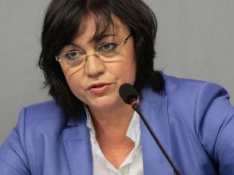 Корнелия Нинова: Задкулисието назначи Порожанов и Борисов е зависим от него