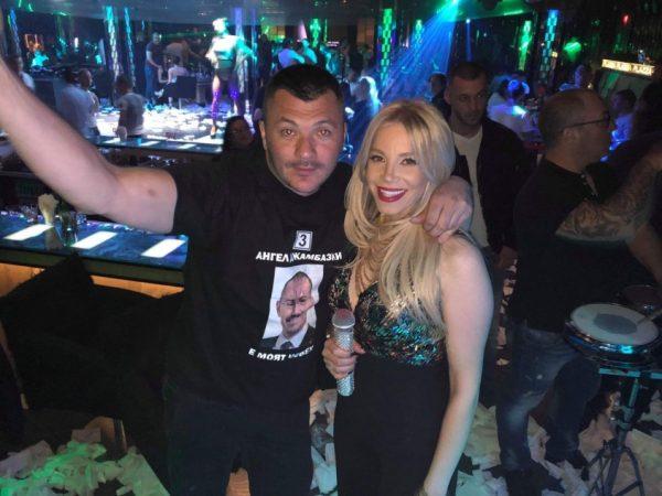 Тачо вдигна на крака стотици в столичен нощен клуб: Бъдете българи, подкрепете Ангел Джамбазки!