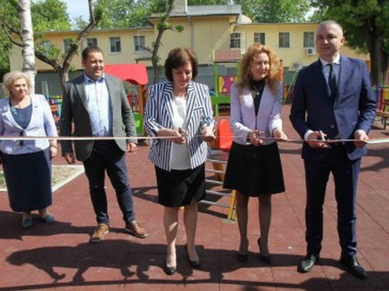 "Откриха обновената детска градина ""Светулка"""
