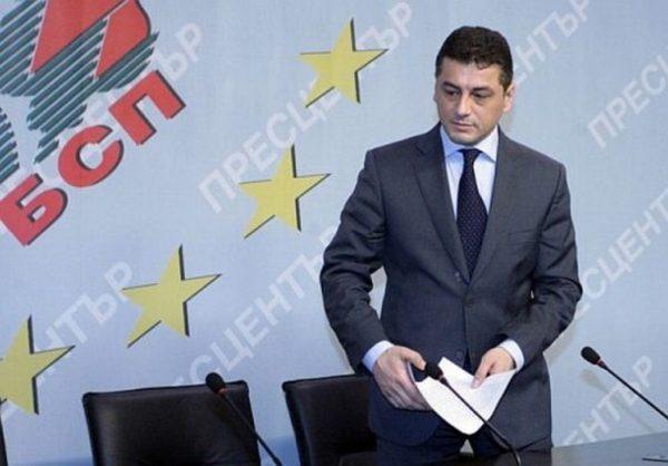 Кр. Янков стана за смях пред НС на БСП?! Истинската атракция била количка с всички оригинални документи, които поискал