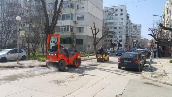 Започна ремонт на малките улици във Варна