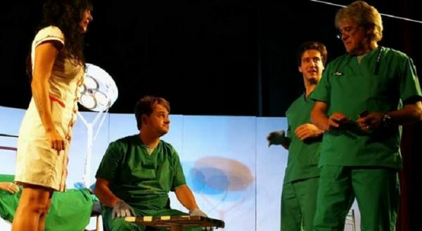 """Смях в Летен театър с """"Операцията"""" на Иво Сиромахов, Мариан Бачев и Орлин Горанов"""