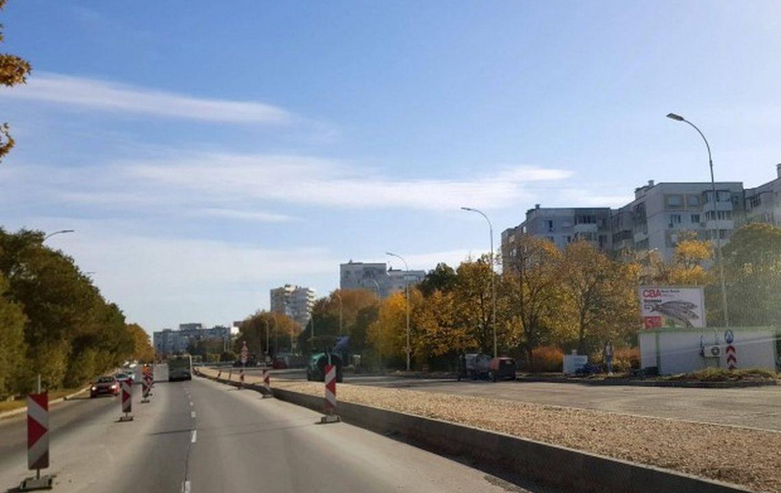"""След недоволството връщат растителността по разделителната ивица на бул.""""Васил Левски"""""""
