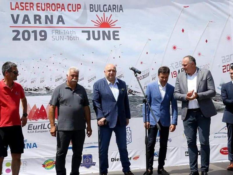 Българите обраха призовете в Европейската купа по ветроходство клас Лазер във Варна